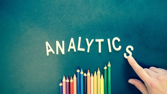 Analytics and colored pencils