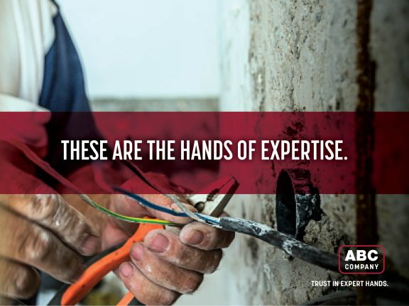These are the hands of Expertise Branding