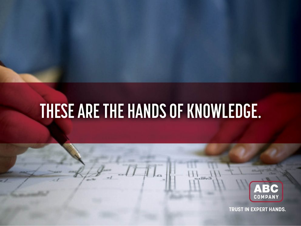 These are the hands of expertise
